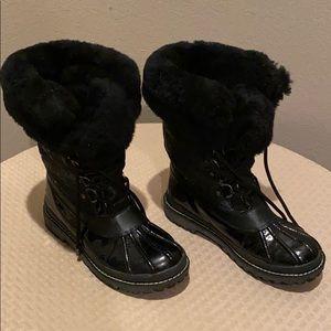 Coach Signature Snow/Rain Boots